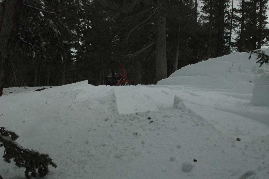 Digging out the Chapel...