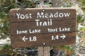 June Lake, Yost Lake